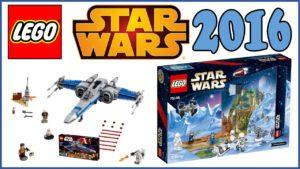 LEGO Star Wars Summer 2016 sets Resistance X-wing Fighter 2016 Advent Calendar 2016