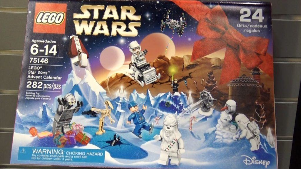 2016 Lego Star Wars Advent Calendar