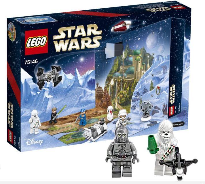 2016 Lego Star Wars Advent Calendar Box