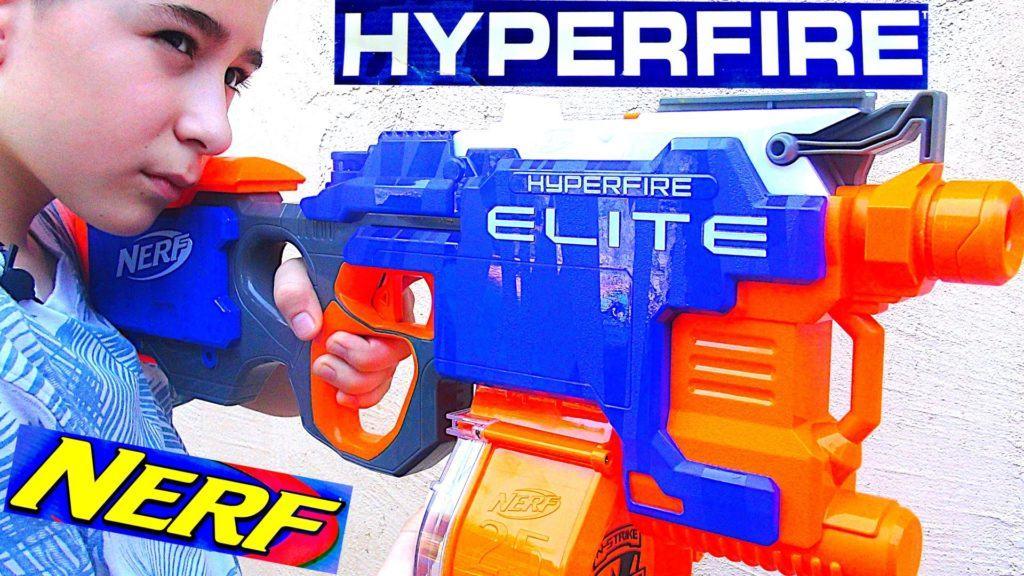 Best NERF Gun Ever Nerf N-Strike Elite HyperFire Blaster best deal
