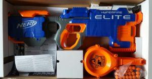 Unboxing The Best NERF Gun Nerf N-Strike Elite HyperFire Blaster