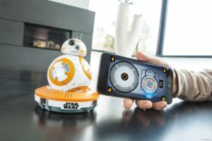 control Sphero Star Wars BB-8 Droid with mobile app