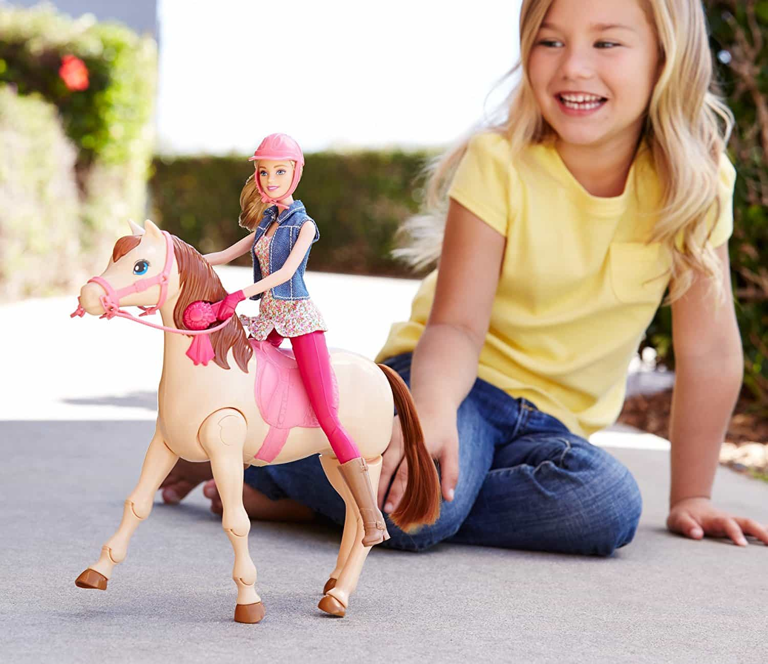 ca0f0bfd7105 Barbie Saddle  N Ride Horse Barbie Doll Edition Review - The Most ...