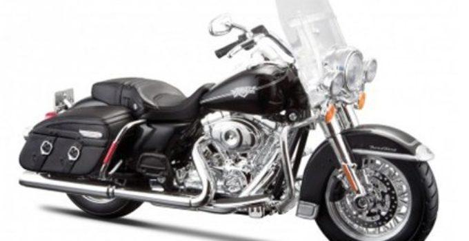 Maisto 2013 Harley Davidson FLHRC Road King Classic Black Bike Motorcycle 32322