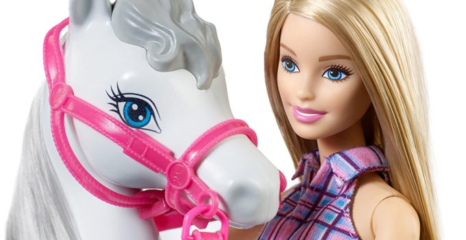 every horse riding barbie doll toy set favourite list