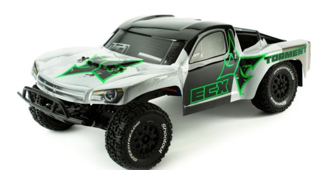 ECX Torment 2WD RTR Short Course Truck Black-Green