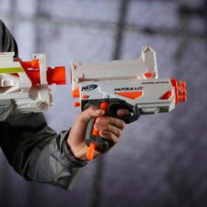 New NERF MODULUS BARRELSTRIKE Blaster