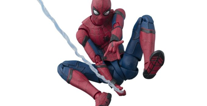 Spider-Man Homecoming Option Act Wall Action Figure
