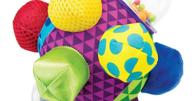 Sassy Developmental Bumpy Ball review