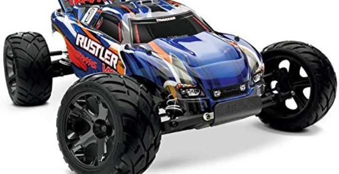 Traxxas 37076-3 Rustler VXL RTR Vehicle