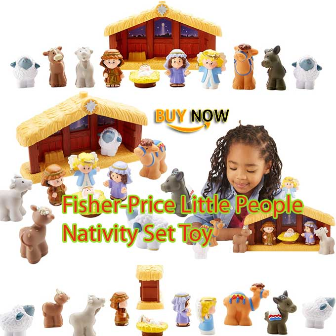 Fisher-Price Little People Nativity Set Toy Review