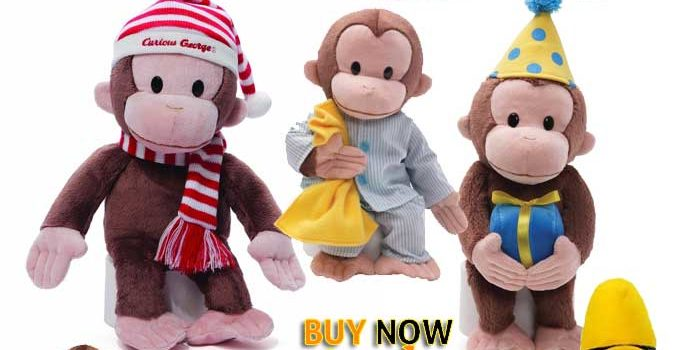 Gund Curious George Stuffed Animal Toy Review