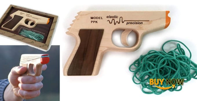 Elastic Precision Model PPK Rubber Band Gun Review