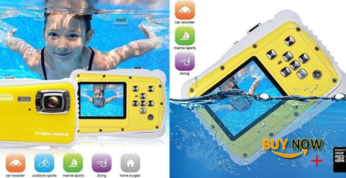 Best Kids Digital Camera Video Recorder-IP68 Waterproof Camera Underwater Digital Action Camera Kids