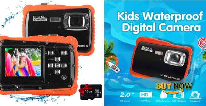 Get The Best Kids Waterproof Camera Digital Camera for 4-10 Years Old Children