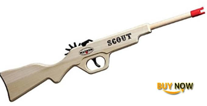 Magnum Enterprises Wooden Scout Rifle Toys Review