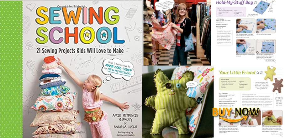 Sewing School 21 Sewing Projects Kids Will Love To Make Review