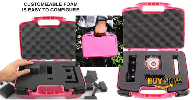 buy casematix kidcase pink kids waterproof camera case fits ourlife kids waterproof camera video camera for christmas