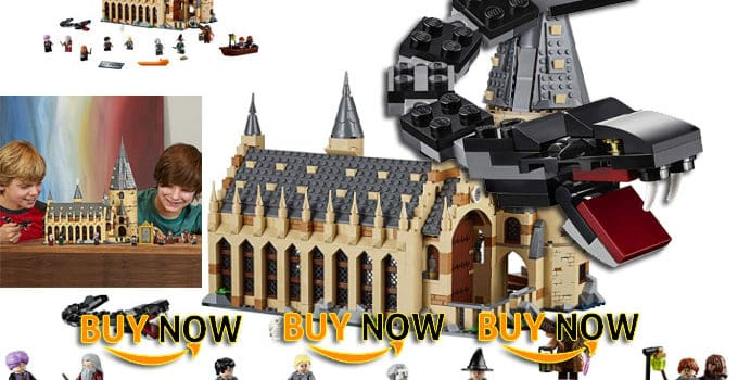 Harry Potter Lego 75954 Hogwarts Great Hall Building Kit Review