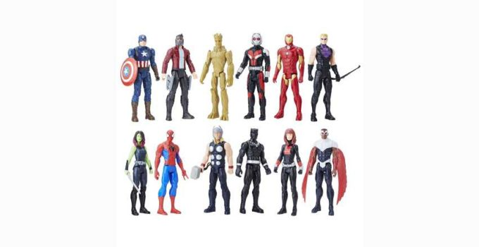 Avengers Titan Hero Series 12 Pack Action Figures Amazon Exclusive Review