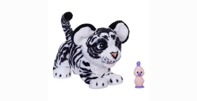 FurReal Roarin Ivory The Playful Tiger Interactive Plush Toy Review