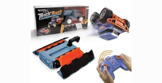 Hot Wheels Rc Trick Truck Transforming Stunt Park Vehicle Review
