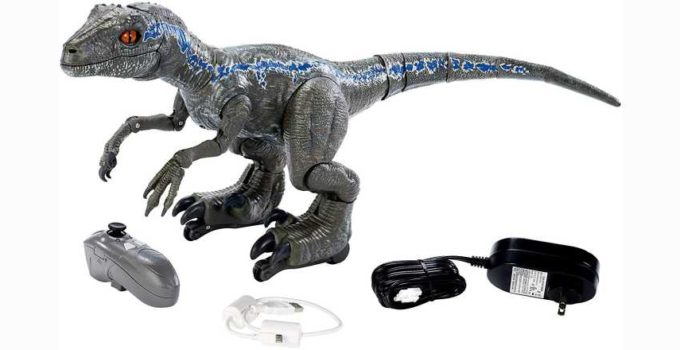 Jurassic World Toys FLY56 Alpha Training Blue Review