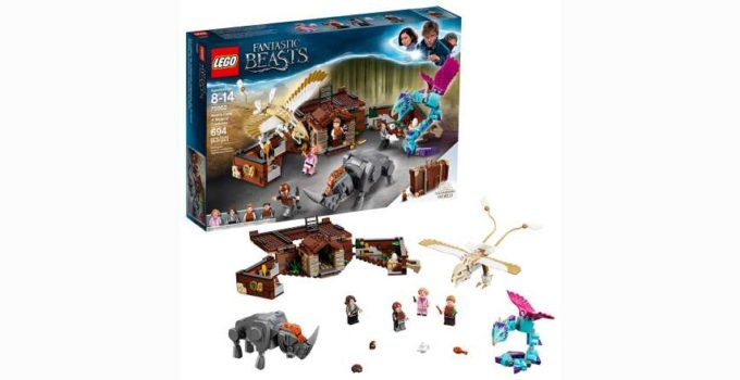 LEGO Fantastic Beasts Newt s Case Magical Creatures Review