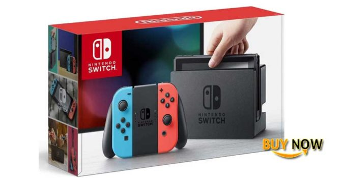 Nintendo Switch–Neon Red Neon Blue Joy-Con Review