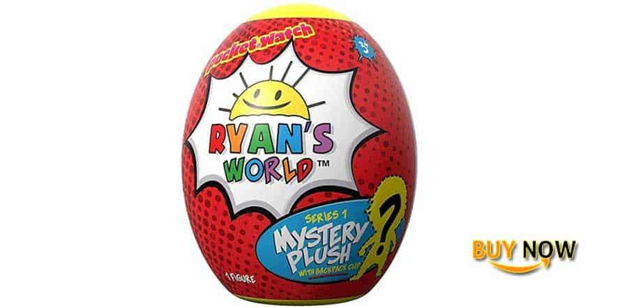 Ryan's World Surprise Egg Plush Clip Review