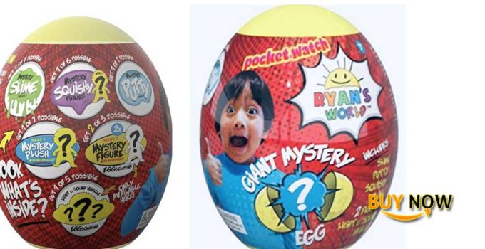 YB Ryans World Giant Mystery Eggs Review