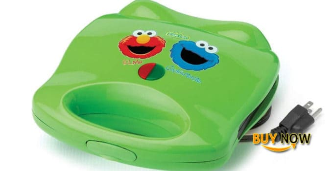 Cute Cooking Tools for Kids: Elmo & Cookie Monster Electric Sandwich Maker