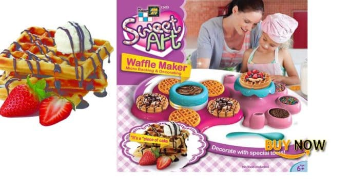 Get Best AMAV Belgian Waffle Maker Toy Activity Set Using Microwave Baking
