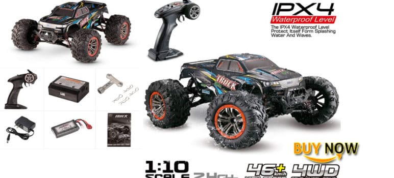 XINLEHONG TOYS Goolsky 9125 Review 1/10 RC Car 2.4GHz 4WD 46km/h High Speed Remote Control Short-Course Truck Waterproof