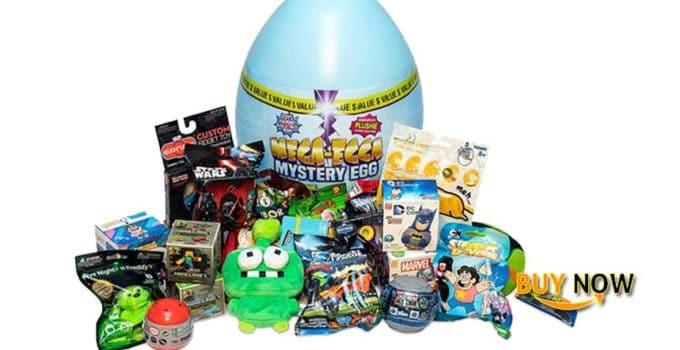 POG Mega-Egga Toys Ultimate Surprise Giant Mystery Egg Blue Color