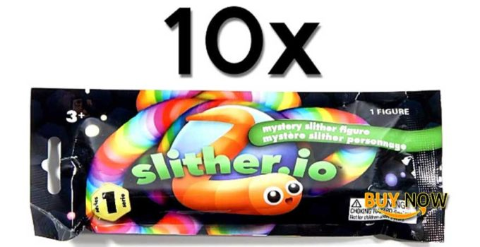 Slither.io Hunt For The Secret Slither Mystery Figure Toy Review