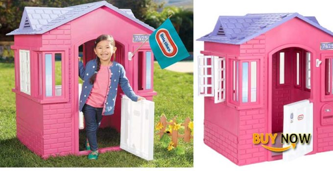 Buy Little Tikes Princess Cape Cottage Playhouse: Best Colored in Pink