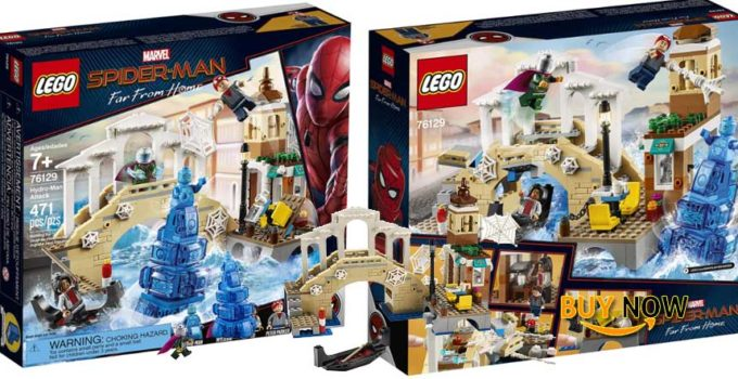LEGO Marvel Spider-Man Far From Home Hydro-Man Attack 76129 2019