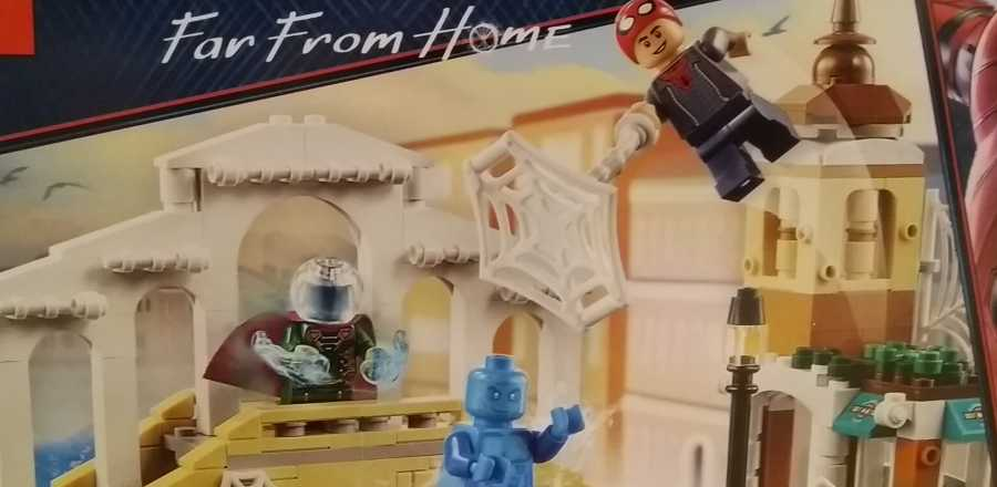LEGO Marvel Spider-Man Far From Home Hydro-Man Attack 76129 2019 box