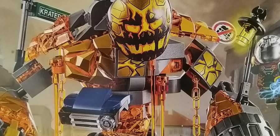 LEGO Marvel Spider-Man Far From Home Molten Man Battle 76128 2019 Review