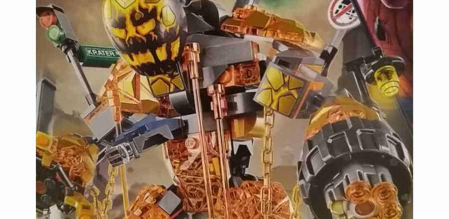 LEGO Marvel Spider-Man Far From Home Molten Man Battle 76128 2019 Box Front