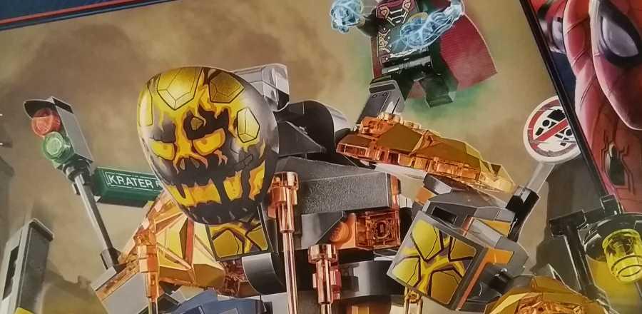 LEGO Marvel Spider-Man Far From Home Molten Man Battle 76128 2019 Box