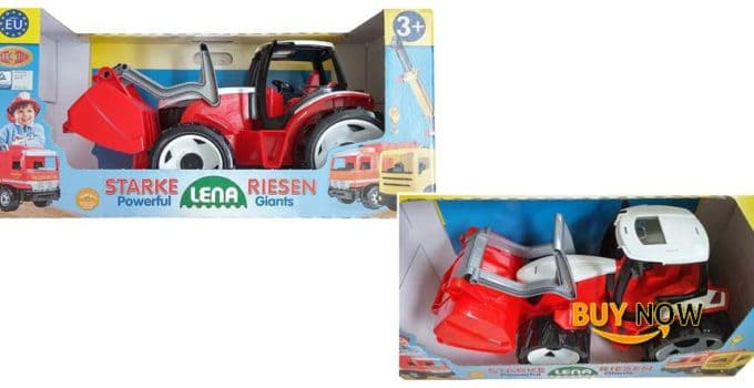 Lena Starke Riesen Powerful Giants Red Tractor Made In Germany