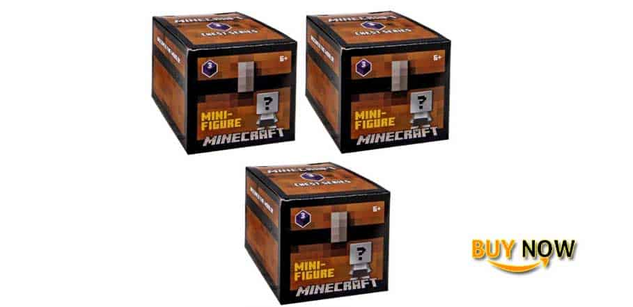 Mistery Minecraft Chest Series Pack of Three
