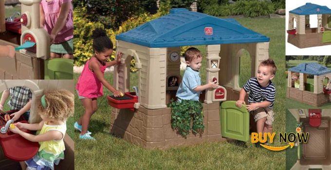 Step2 Happy Home Cottage & Grill Kids Playhouse Review