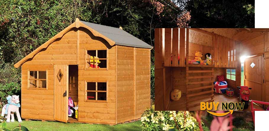 Bosmere Rowlinson A038 Swiss Cottage Playhouse