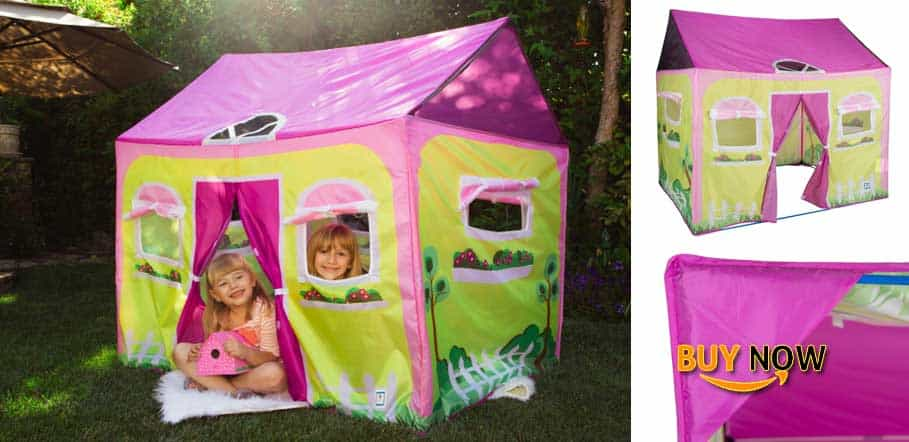 "Buying Pacific Play Tents 60600 Cottage House Play Tent - size 58"" x 48"" x 58"""
